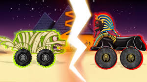 videos monster trucks monster trucks from egypt spinx vs zombie children u0027s monster