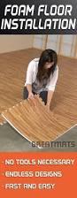 one of the easiest diy floors to install foam floor tiles can