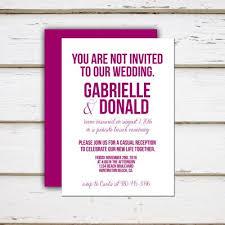 Wording Wedding Invitations Informal Wedding Invitation Wording For Friends Informal Wedding