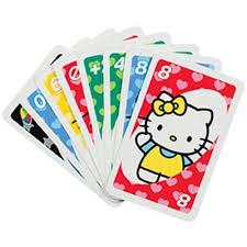 kitty uno card game tin walmart