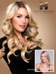 hotheads extensions hot heads hair extensions tre volte