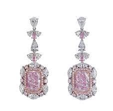 pink diamond earrings pink diamonds the greatest collection seen australia