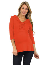 nursing top tess ruffle half sleeve nursing top bellymoms maternity and