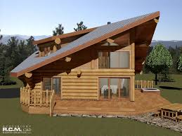 Log Home Styles The Spring Log Home Styles Rcm Cad Design Drafting Ltd