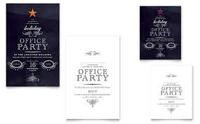 office party invite template thevictorianparlor co