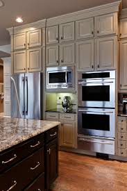 Cabinets With Crown Molding Under Cabinet Microwave Oven Kitchen Traditional With Ceiling