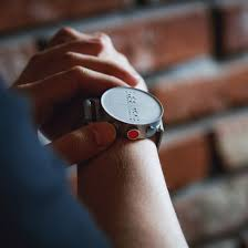 Wrist Watch For The Blind Smartwatch For The Visually Impaired Displays Information In Braille