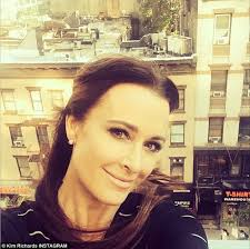 kyle richards needs to cut her hair kyle richards reveals she has suffered an eye condition for five