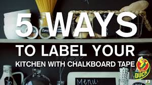 chalkboard ideas for kitchen chalkboard ideas 5 ways to label your kitchen with chalkboard