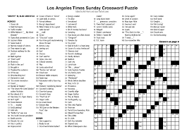 new york times crossword puzzle printable gameshacksfree