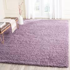 Area Rugs With Purple Safavieh Laguna Shag Purple 8 Ft X 10 Ft Area Rug Sgl303p 8