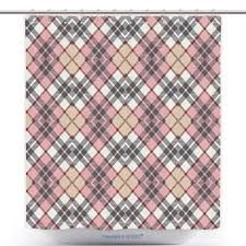 Pale Pink Bathroom Accessories by Us 29 86 Funky Shower Curtain Abstract Irish Vintage Fashion