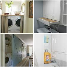 Laundry Closet Door 15 Laundry Closet Ideas To Save Space And Get Organized