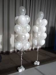 xl balloons matte finish fringe and greenery added vendor board