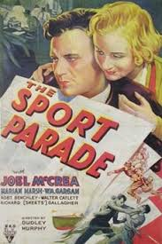 Seeking Dram Imdb The Sport Parade 1932 Directed By Dudley Murphy Reviews