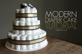 diper cake modern cake tutorial simply real