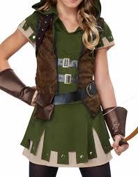 halloween costume robin u0027s miss robin hood costume walmart com