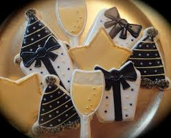 New Year S Decorated Cookies by 79 Best New Year Sugar Cookies Images On Pinterest Sugar Cookies