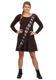 joan jett halloween costume ideas i am chewbacca juniors skater dress