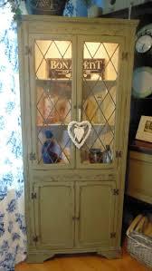 Corner Kitchen Hutch Furniture 37 Best Corner Cabinets Images On Pinterest Corner Cabinets