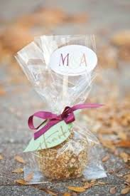 wedding favors caramel apple favors a personal favorite of the