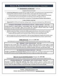 Coo Resume Templates Chief Operations Director Coo Resume Example