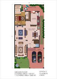 Home Design For 8 Marla by 10 Marla House Plan Dwg Arts