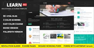 learn courses workshop educational template by ansonika