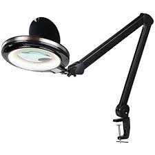 led lighted desk magnifying l amazon com brightech lightview pro led magnifying cl l