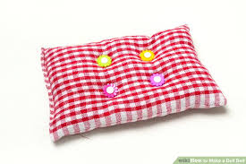 How To Make A Toy Chest Cushion by 3 Ways To Make A Doll Bed Wikihow