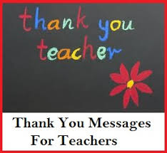 appreciation messages and letters teachers