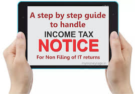 a guide to handle a notice for non filing of income tax return
