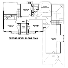 colonial style house plan 4 beds 3 50 baths 3825 sq ft plan 81 1533