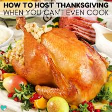 how to host thanksgiving when you can t cook autistic