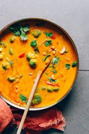 cuisine curry 1 pot pumpkin curry minimalist baker recipes