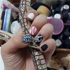 sports nail art nail art 28awesome base ball nail designs design