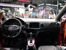Honda Vezel Interior Pics Unveiled Honda Vezel To Be Named As Xr V Suv In China