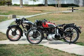 the red hunters ride again 1939 and 1947 ariel red hunter