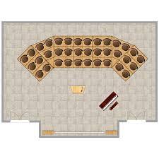 choir u0026 orchestra room plan