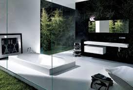 modern bathroom 2017 grasscloth wallpaper