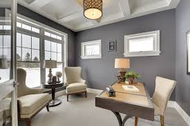 Small Office Room Design Ideas 21 Gray Home Office Designs Decorating Ideas Design Trends