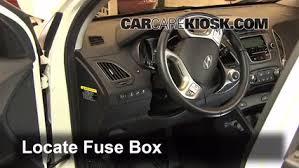 2011 Hyundai Tucson Interior Interior Fuse Box Location 2010 2015 Hyundai Tucson 2012