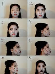 cream halloween makeup bride of frankenstein halloween makeup u2013 la whimsy writer