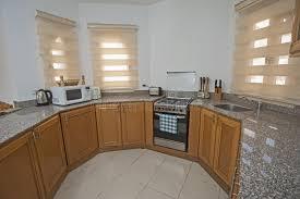 interior decor kitchen interior decor design of kitchen in home apartment stock image