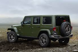 jeep baja edition one week with 2016 jeep wrangler unlimited 4x4 75th edition