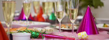 New Years Holiday Decorations by Happy New Year Party Toast Facebook Cover Coverlayout Com Happy