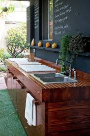 outdoor kitchen sinks and faucets 15 most outrageous outdoor kitchen sink station ideas for plans 14