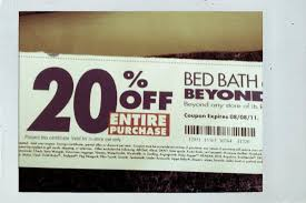 bed bath beyond 20 off got a 20 off entire purchase coupon from bed bath beyon flickr