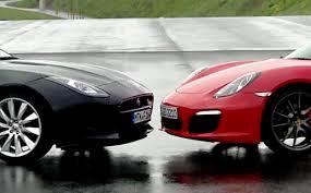 porsche boxster vs 911 jaguar f type vs porsche boxster s car tv