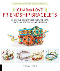 make friendship bracelet designs images Charm love friendship bracelets 35 unique designs with polymer jpg